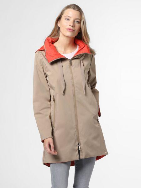 Beżowy płaszcz Rino & Pelle