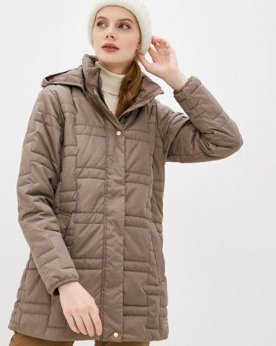 Коричневая утепленная куртка Torstai