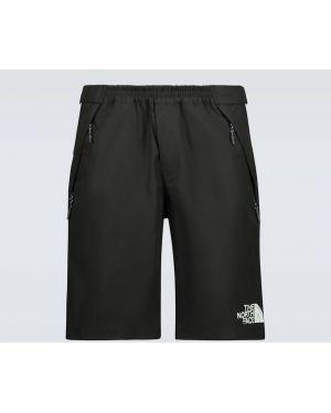 Szorty bawełniane - czarne The North Face Black Series