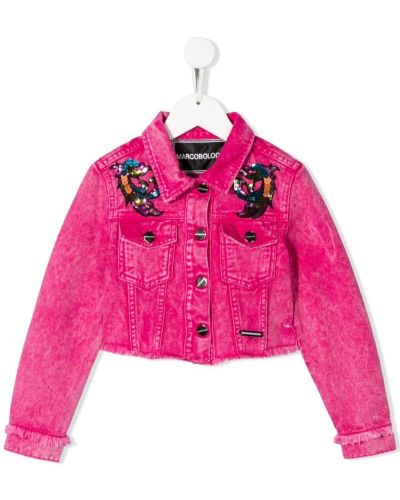 Розовая куртка Marco Bologna Kids