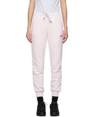 Спортивные брюки розовый стрейч Msgm