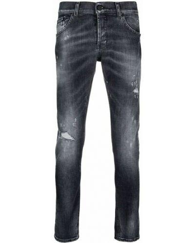 Czarne mom jeans Dondup