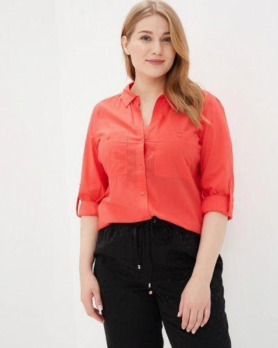 Красная рубашка с длинным рукавом Violeta By Mango