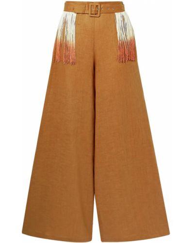 Палаццо - коричневые Miguelina