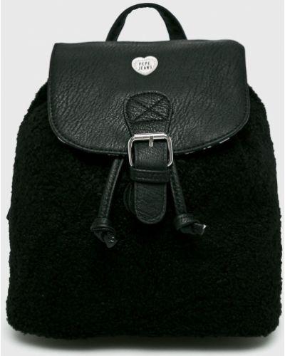 Рюкзак черный Pepe Jeans