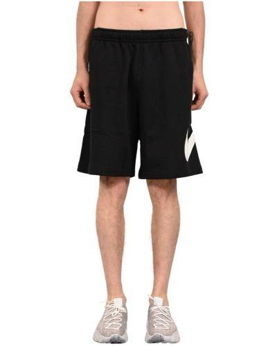 Czarne bermudy Nike