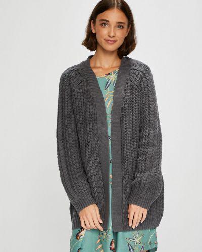Вязаный свитер шерстяной с узором Roxy