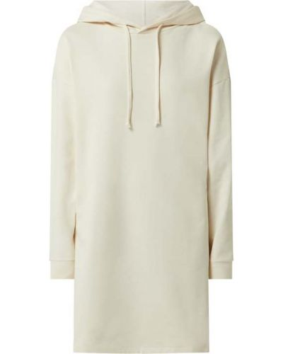 Biała sukienka rozkloszowana dzianinowa Only