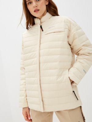 Бежевая утепленная куртка Merrell