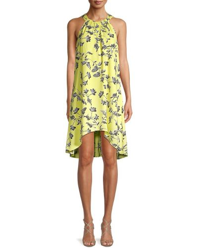 Купальное платье свободного кроя в цветочный принт без рукавов Bcbgeneration