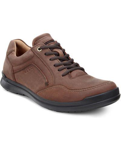 Кожаные полуботинки классические на каблуке Ecco