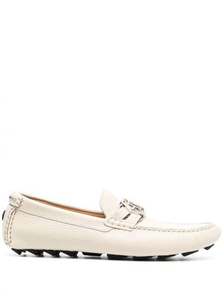 Loafers skorzane Philipp Plein