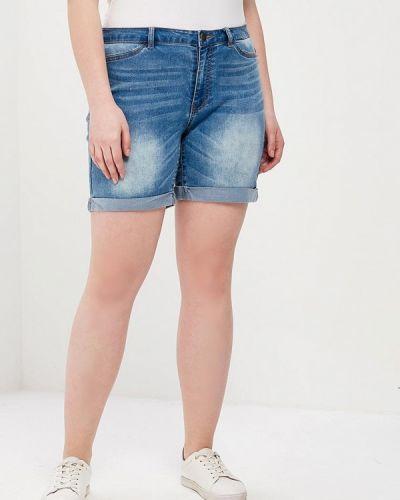 Голубые джинсовые шорты Junarose