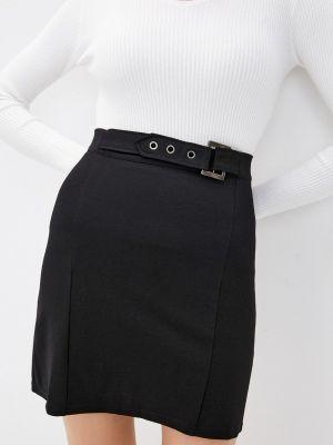 Черная прямая юбка Elsi