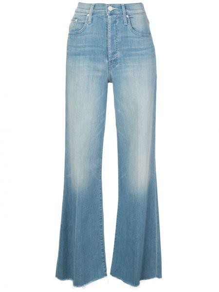 Расклешенные джинсы с манжетами на пуговицах Mother