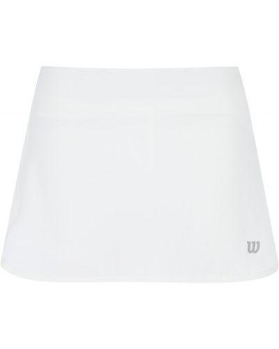 Белая юбка из полиэстера Wilson