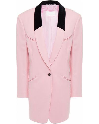 Шерстяной блейзер - розовый Maison Margiela