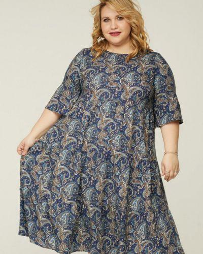 Платье миди - синее Gorda Bella