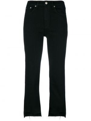 Укороченные джинсы черные Rag & Bone
