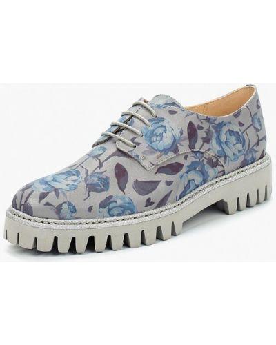 Кожаные ботинки на каблуке Marie Collet