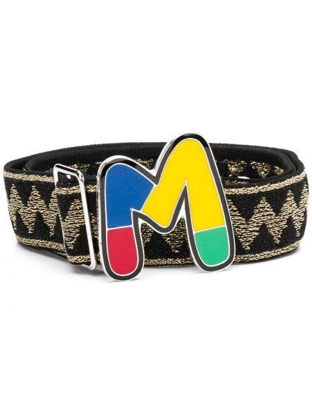 Черный ремень с пряжкой M Missoni