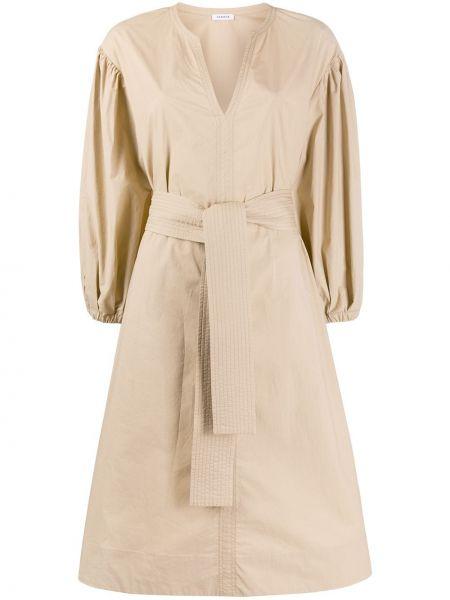 Платье с поясом через плечо с V-образным вырезом P.a.r.o.s.h.