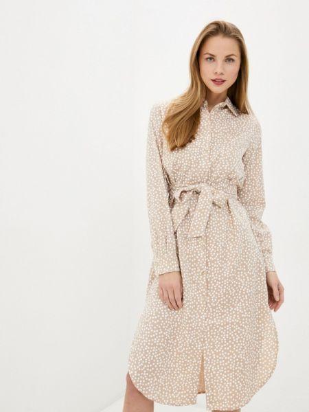 Платье - бежевое Solou