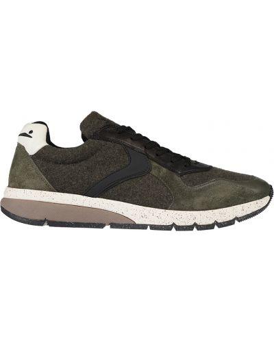 Зеленые кроссовки Voile Blanche