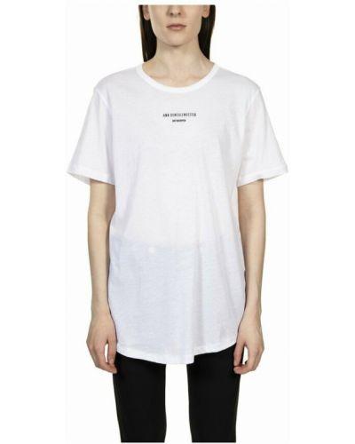 Biała t-shirt Ann Demeulemeester