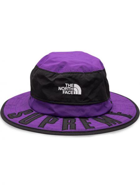 Fioletowy kapelusz Supreme