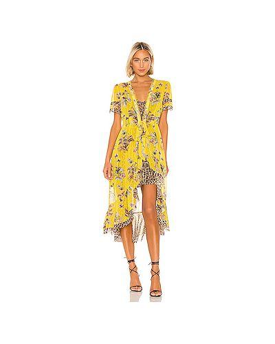 Платье с запахом платье-комбинация Le Superbe