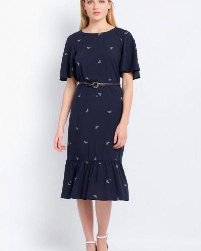 Синее платье миди Finn Flare
