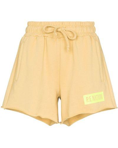 Желтые спортивные брюки P.e Nation