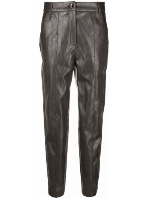 Серые брюки из вискозы Luisa Cerano