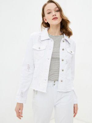 Джинсовая куртка - белая B.style