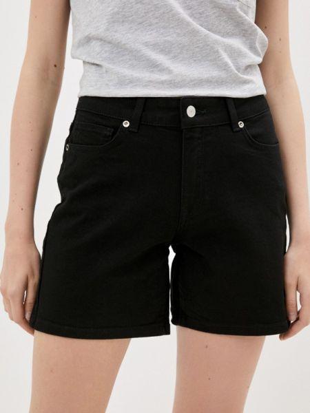 Джинсовые шорты черные Selected Femme