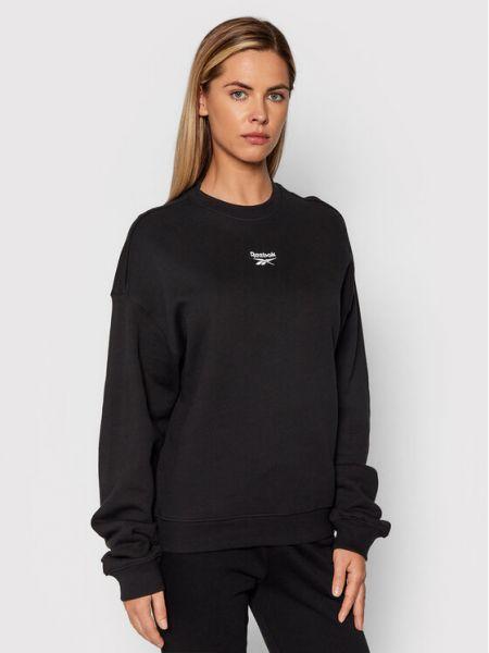 Bluza oversize - czarna Reebok Classic