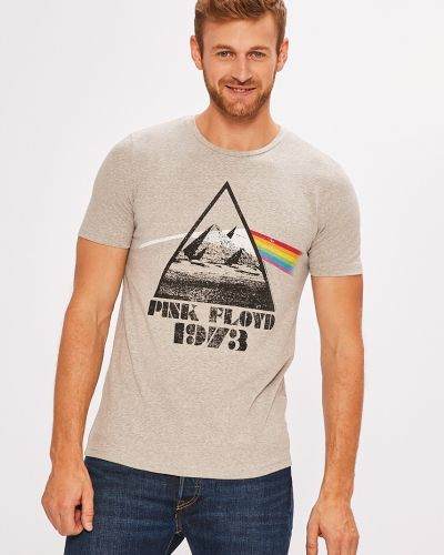 Серая футболка Jack & Jones
