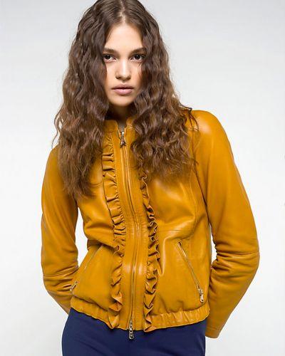 Коричневая куртка весенняя Patrizia Pepe