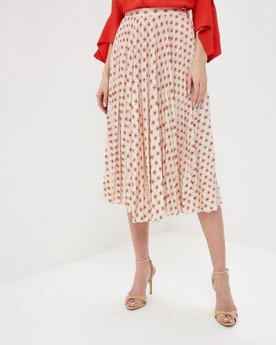 Плиссированная юбка итальянский бежевый Beatrice.b