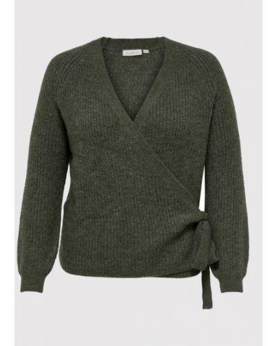 Sweter - zielony Only Carmakoma