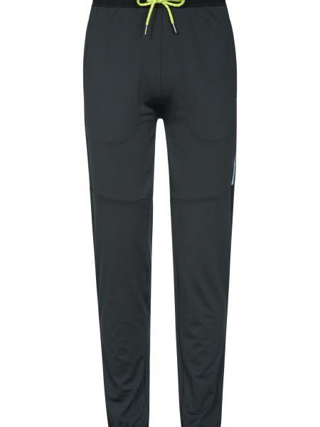 Czarne legginsy do biegania Mountain Warehouse