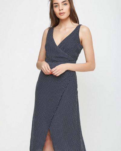 Платье с запахом весеннее Sfn