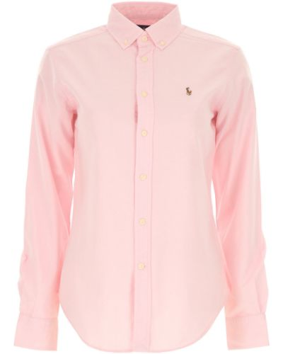 Klasyczna koszula, różowy Ralph Lauren