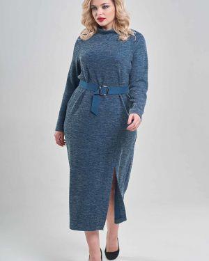 Платье макси платье-сарафан с рукавами Mari-line