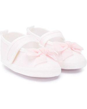 Różowe balerinki płaska podeszwa Aletta