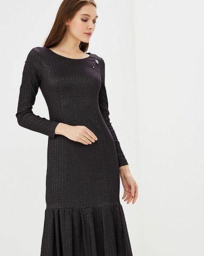 Платье осеннее черное Vemina City Lisa Romanyk
