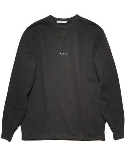 Czarna bluza Acne Studios