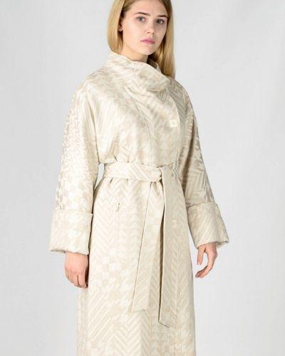 Пальто белое весеннее Raslov