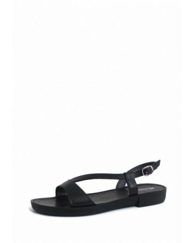 Черные кожаные сандалии Blizzarini